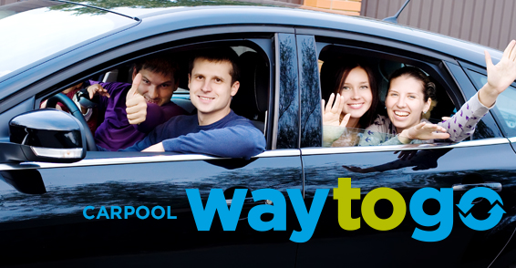What's Your Mode To Go? - Carpool   Way to Go